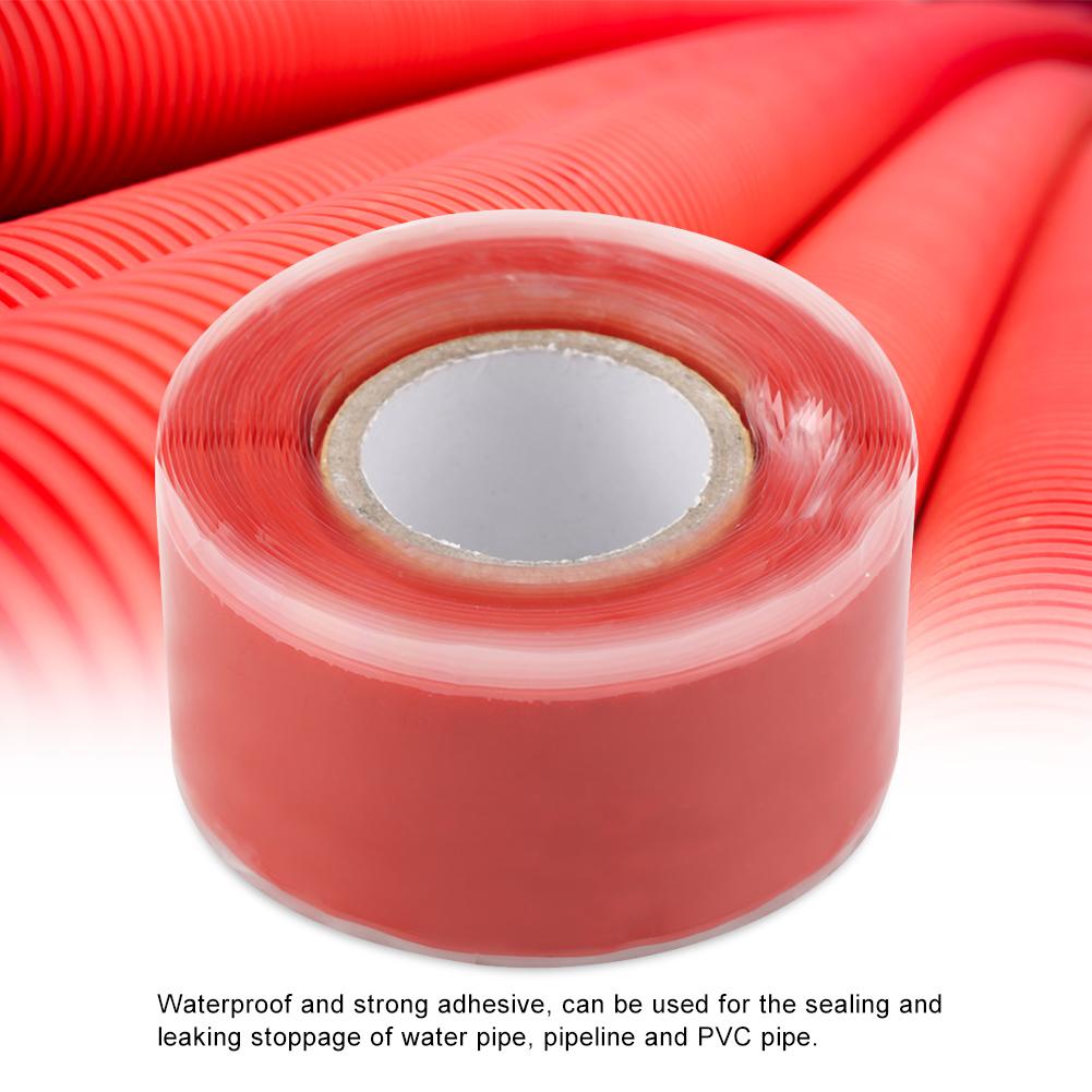 Gummi-Silikon-Reparatur-Rohr-Draht-wasserdicht-Bonding-Tape-Rescue-Self-Fusing-Draht Indexbild 24