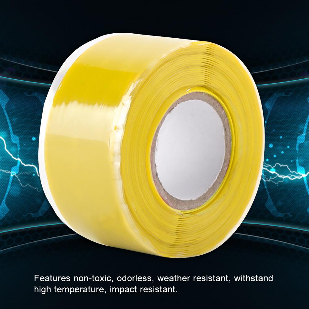 Gummi-Silikon-Reparatur-Rohr-Draht-wasserdicht-Bonding-Tape-Rescue-Self-Fusing-Draht Indexbild 26