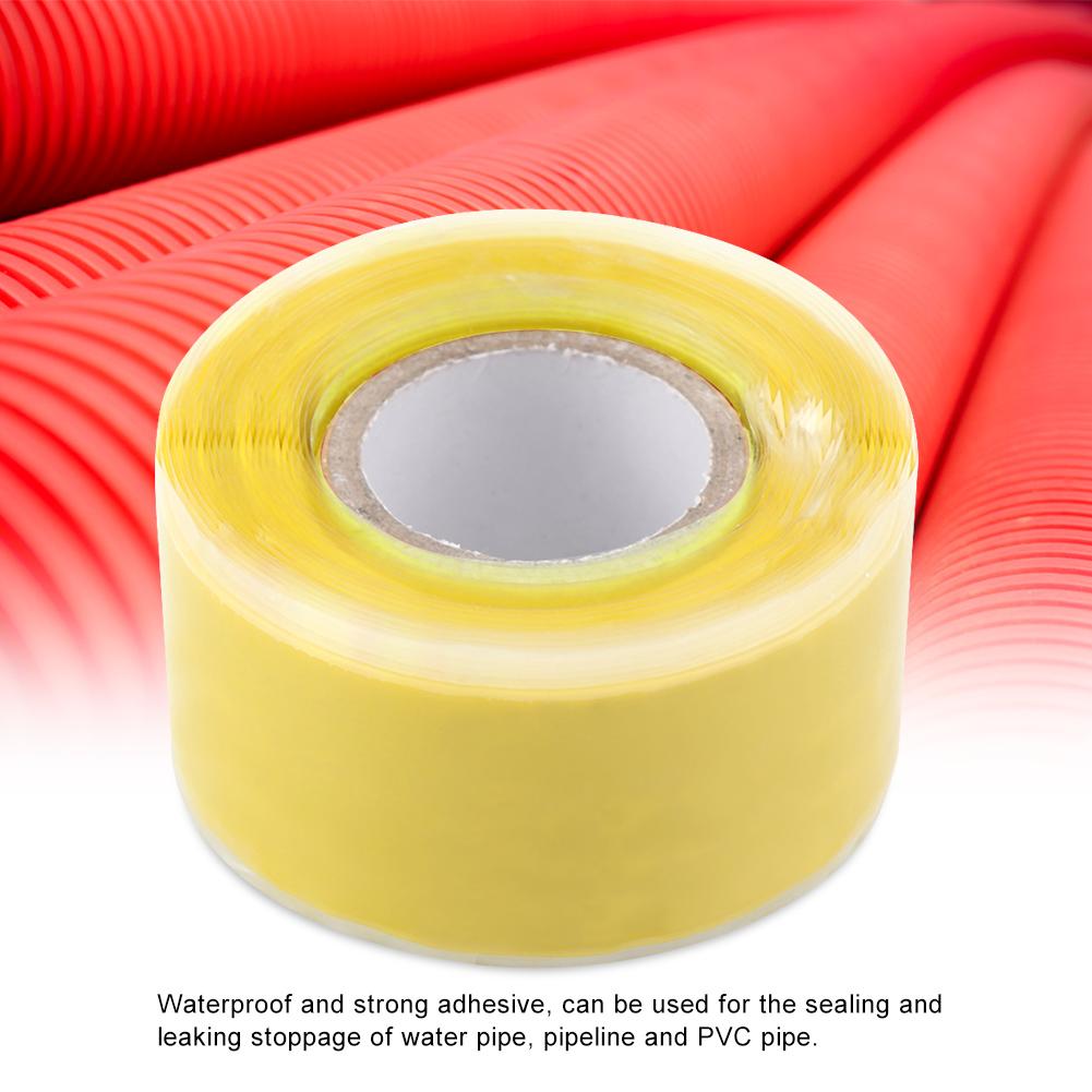 Gummi-Silikon-Reparatur-Rohr-Draht-wasserdicht-Bonding-Tape-Rescue-Self-Fusing-Draht Indexbild 27