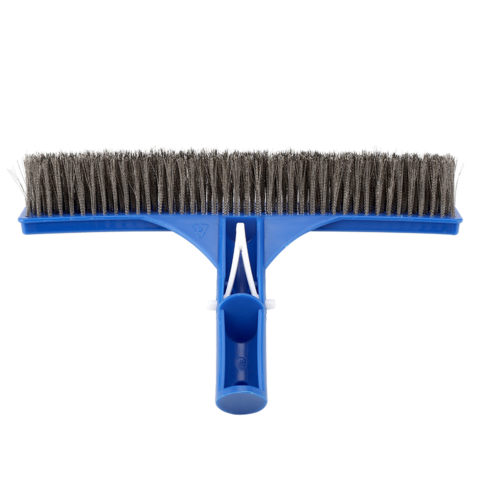 Telescopic Handle Swimming Pool Cleaning Brush Head Heavy