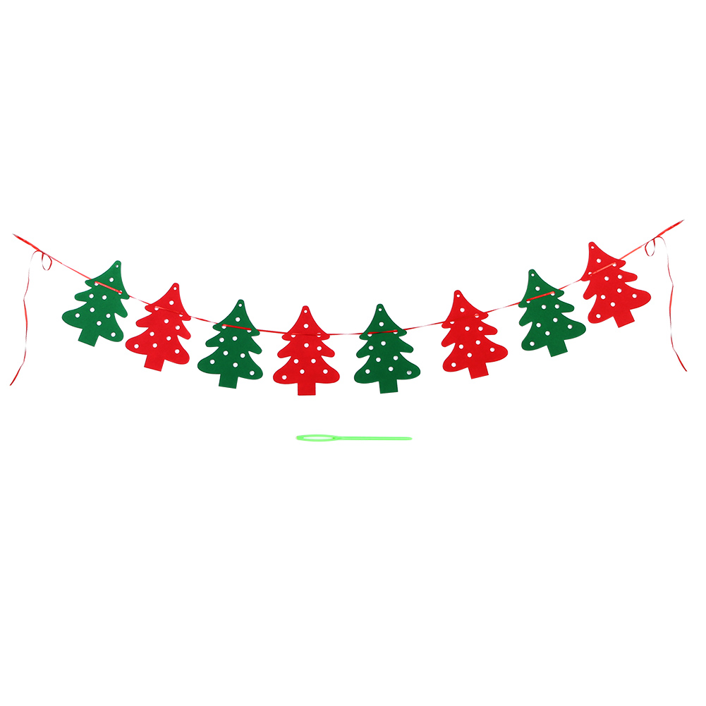 3m merry christmas banner felt christmas santa flags