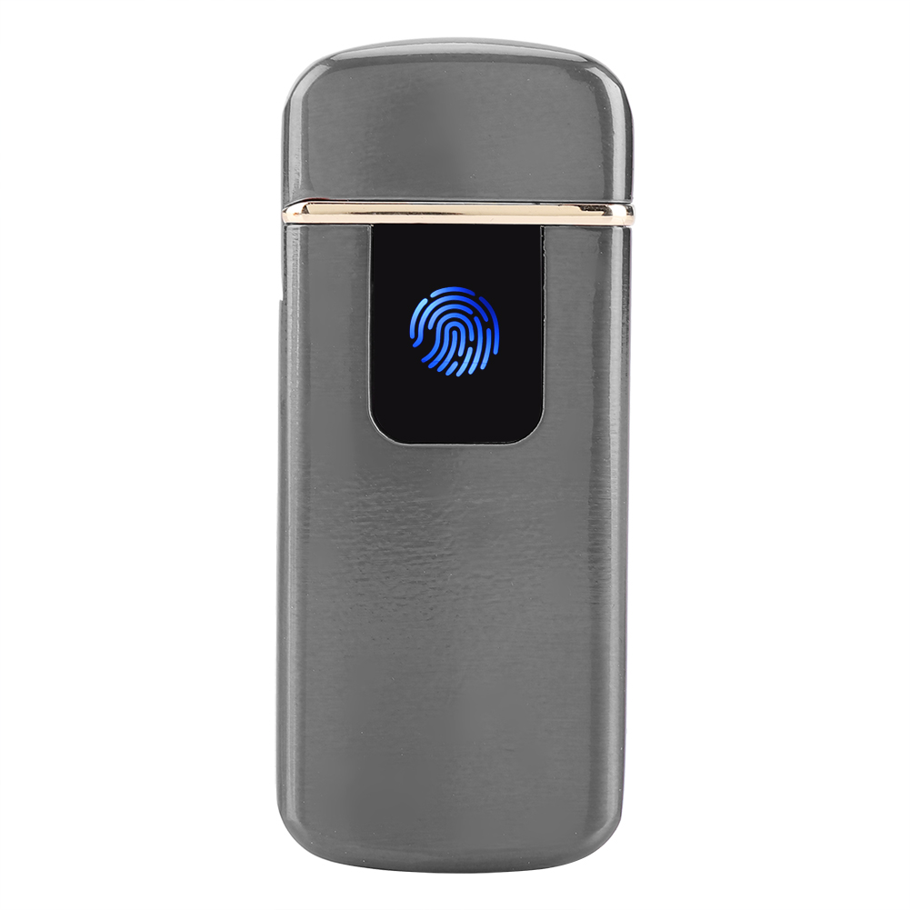 USB-Electric-Dual-Arc-Windproof-Torch-Rechargeable-Flameless-Cigarette-Lighter