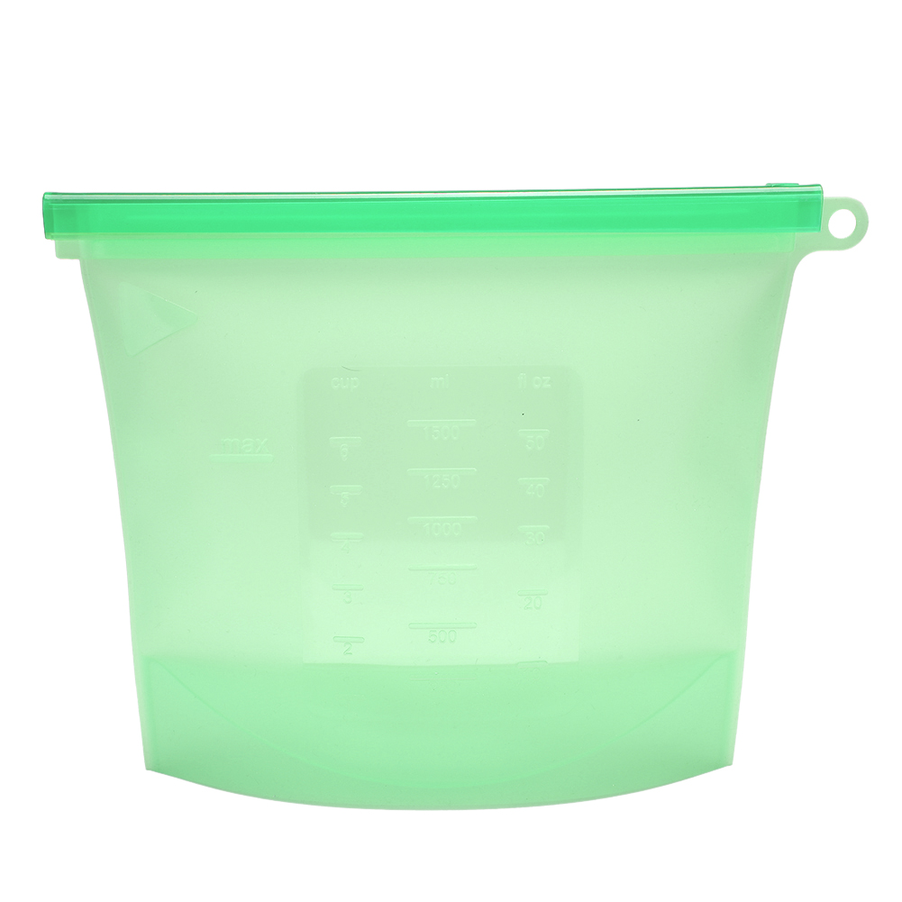 1500ml-Reusable-Silicone-Food-Storage-Container-Fruit-Veg-Milk-Preservation-Bags thumbnail 20