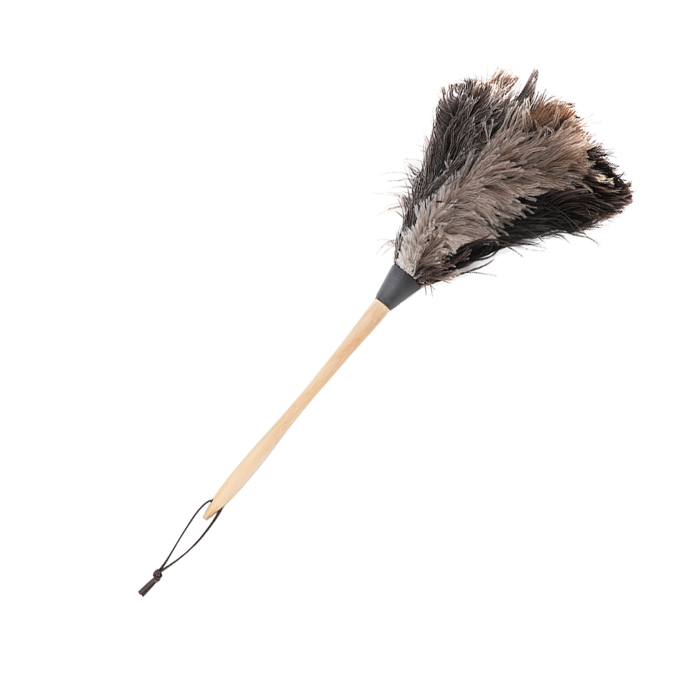 Anti-static-Wool-Ostrich-Feather-Fur-Brush-Duster-Dust-Cleaning-Tool-Wood-Handle thumbnail 23