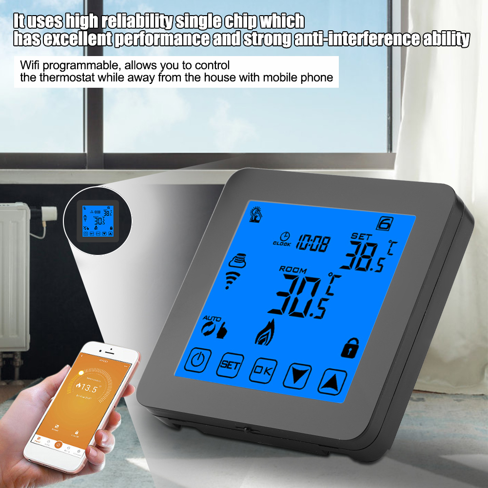 Programmable-WiFi-Smart-Touch-Room-Thermostat-Temperature-Controller-APP-Control thumbnail 26