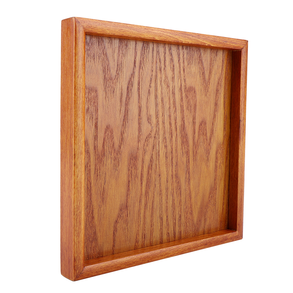 Large-Solid-Wood-Tray-Serving-Trays-Tea-Plate-Coffee-Plates-Bread-Wooden-Brunch thumbnail 41