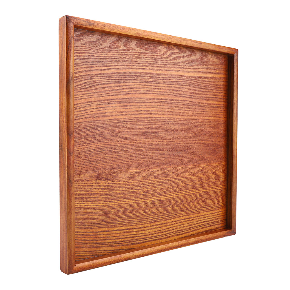Large-Solid-Wood-Tray-Serving-Trays-Tea-Plate-Coffee-Plates-Bread-Wooden-Brunch thumbnail 50