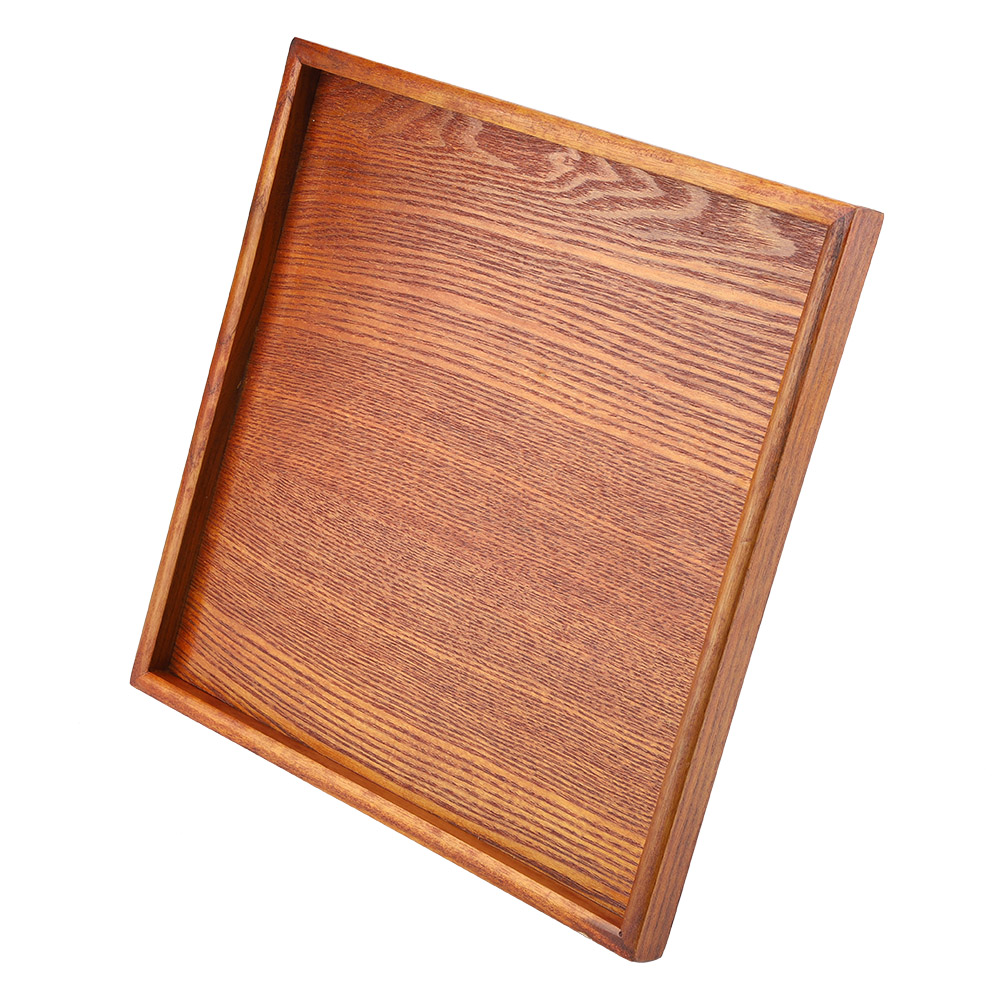 Large-Solid-Wood-Tray-Serving-Trays-Tea-Plate-Coffee-Plates-Bread-Wooden-Brunch thumbnail 51