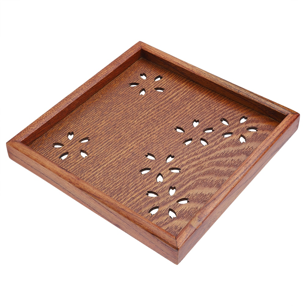 Large-Solid-Wood-Tray-Serving-Trays-Tea-Plate-Coffee-Plates-Bread-Wooden-Brunch thumbnail 30