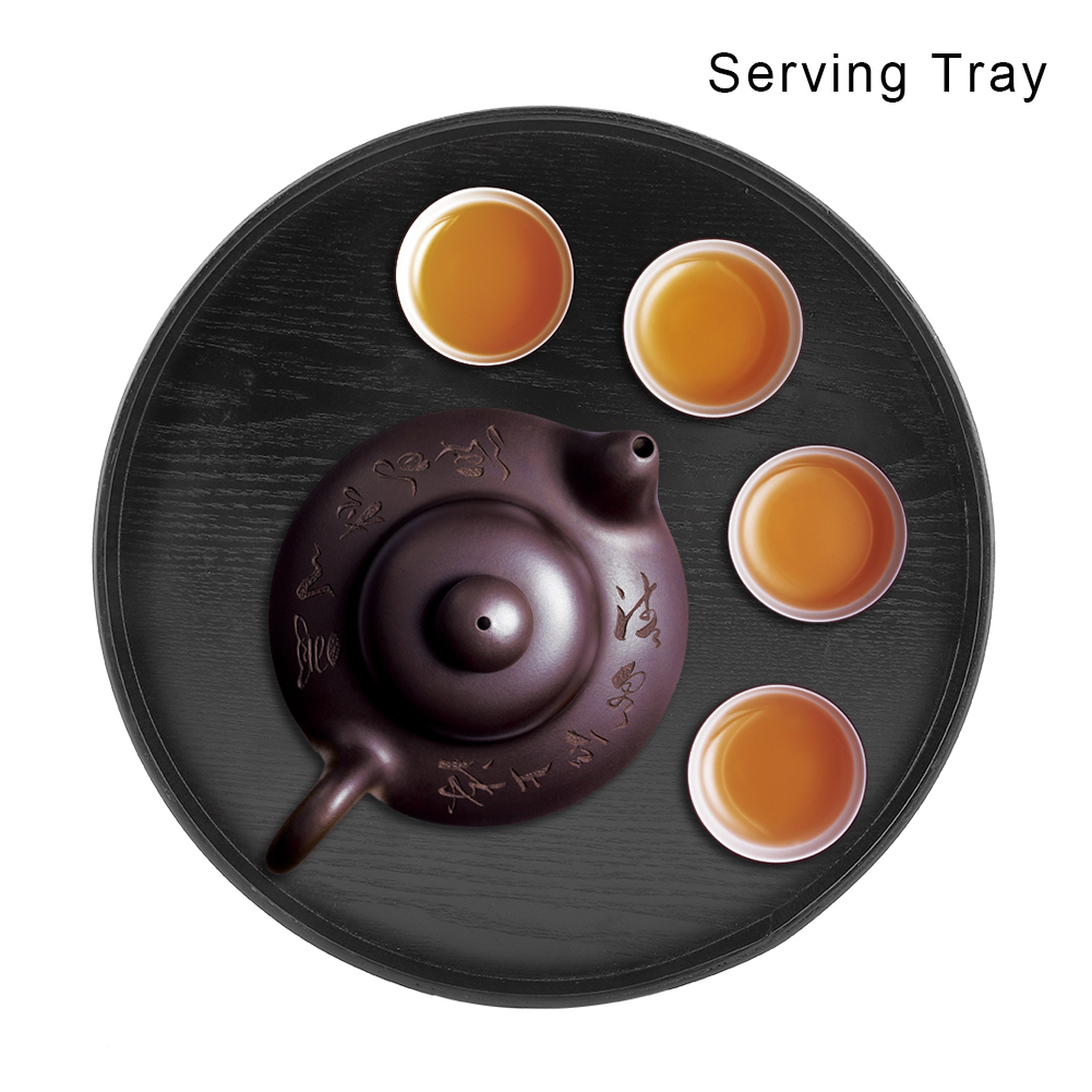 Large-Solid-Wood-Tray-Serving-Trays-Tea-Plate-Coffee-Plates-Bread-Wooden-Brunch thumbnail 26