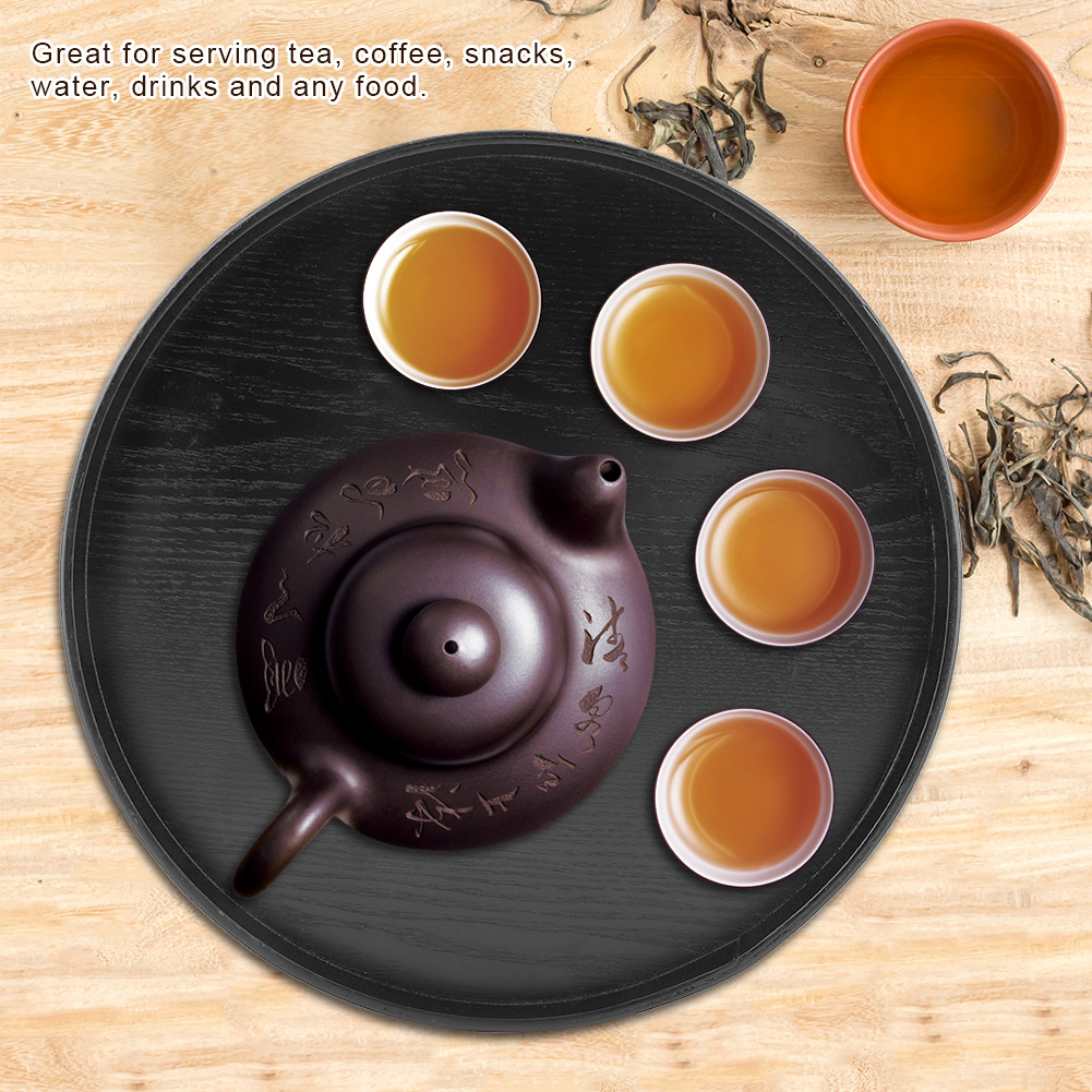 Large-Solid-Wood-Tray-Serving-Trays-Tea-Plate-Coffee-Plates-Bread-Wooden-Brunch thumbnail 27