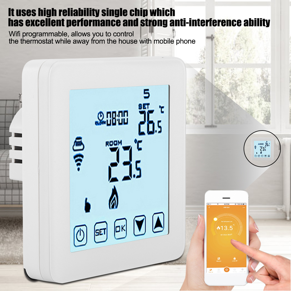 Programmable-WiFi-Smart-Touch-Room-Thermostat-Temperature-Controller-APP-Control thumbnail 14