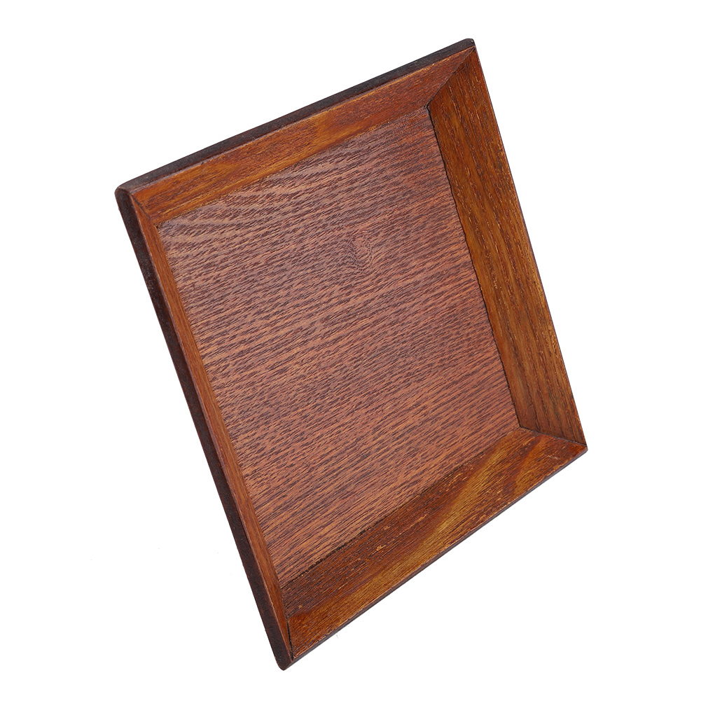 Wooden-Serving-Plate-Dumplings-Sushi-Dish-Plate-Wood-Square-Oblong-Serving-Tray thumbnail 18