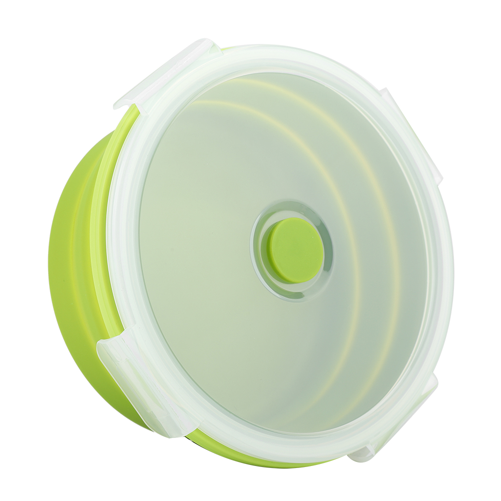 Silicone-Food-Portable-Lunch-Box-ECO-Bowl-Bento-Folding-Collapsible-Storage thumbnail 15