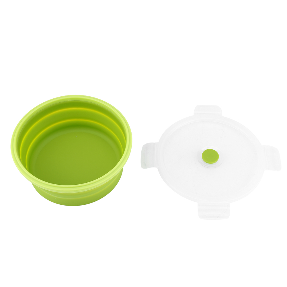 Silicone-Food-Portable-Lunch-Box-ECO-Bowl-Bento-Folding-Collapsible-Storage thumbnail 16