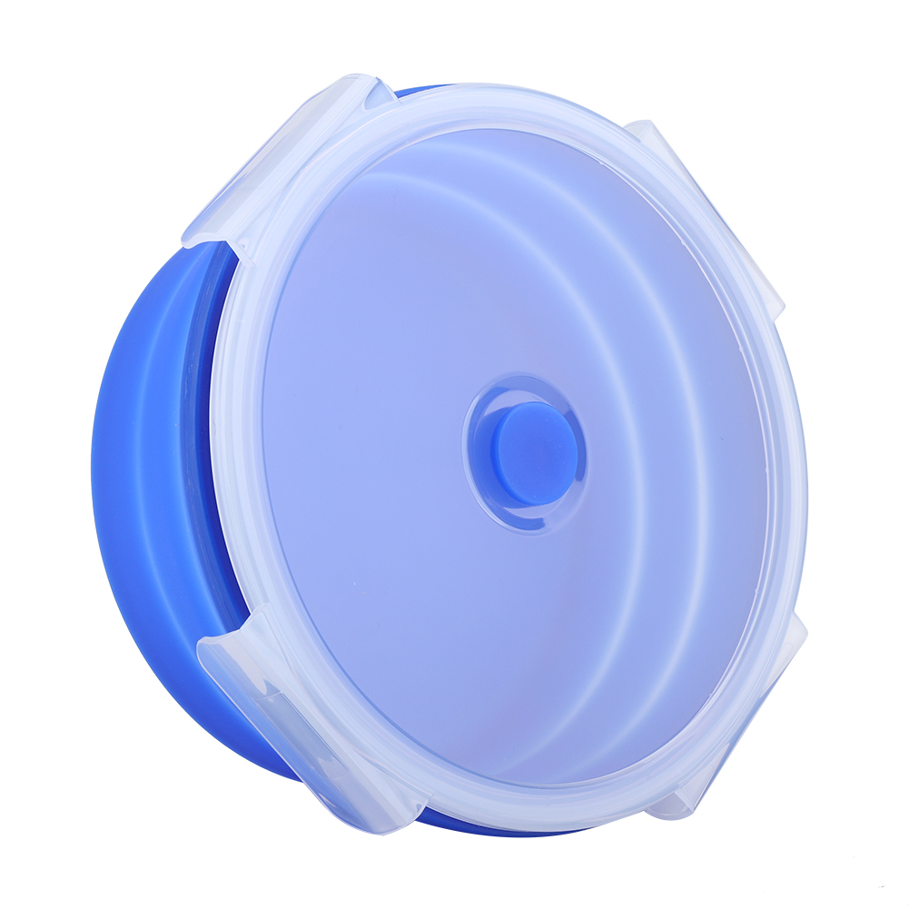 Silicone-Food-Portable-Lunch-Box-ECO-Bowl-Bento-Folding-Collapsible-Storage thumbnail 18