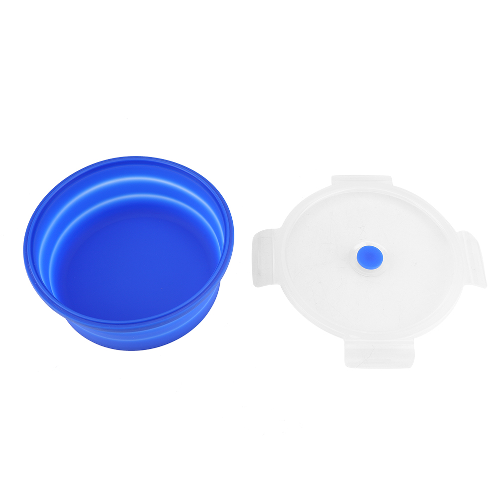 Silicone-Food-Portable-Lunch-Box-ECO-Bowl-Bento-Folding-Collapsible-Storage thumbnail 19