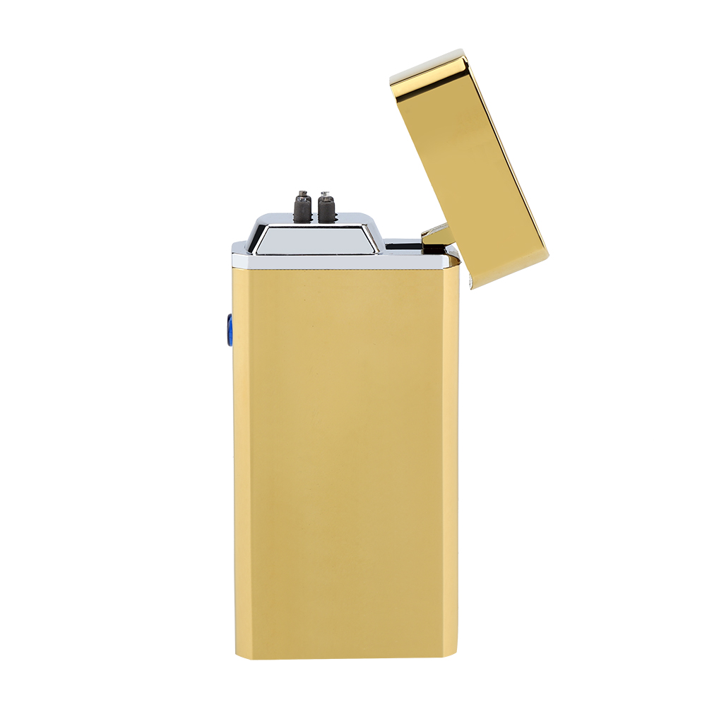 Electric-Dual-Arc-Plasma-USB-Rechargeable-Flameless-Electronic-Lighter-Cigarette miniature 21
