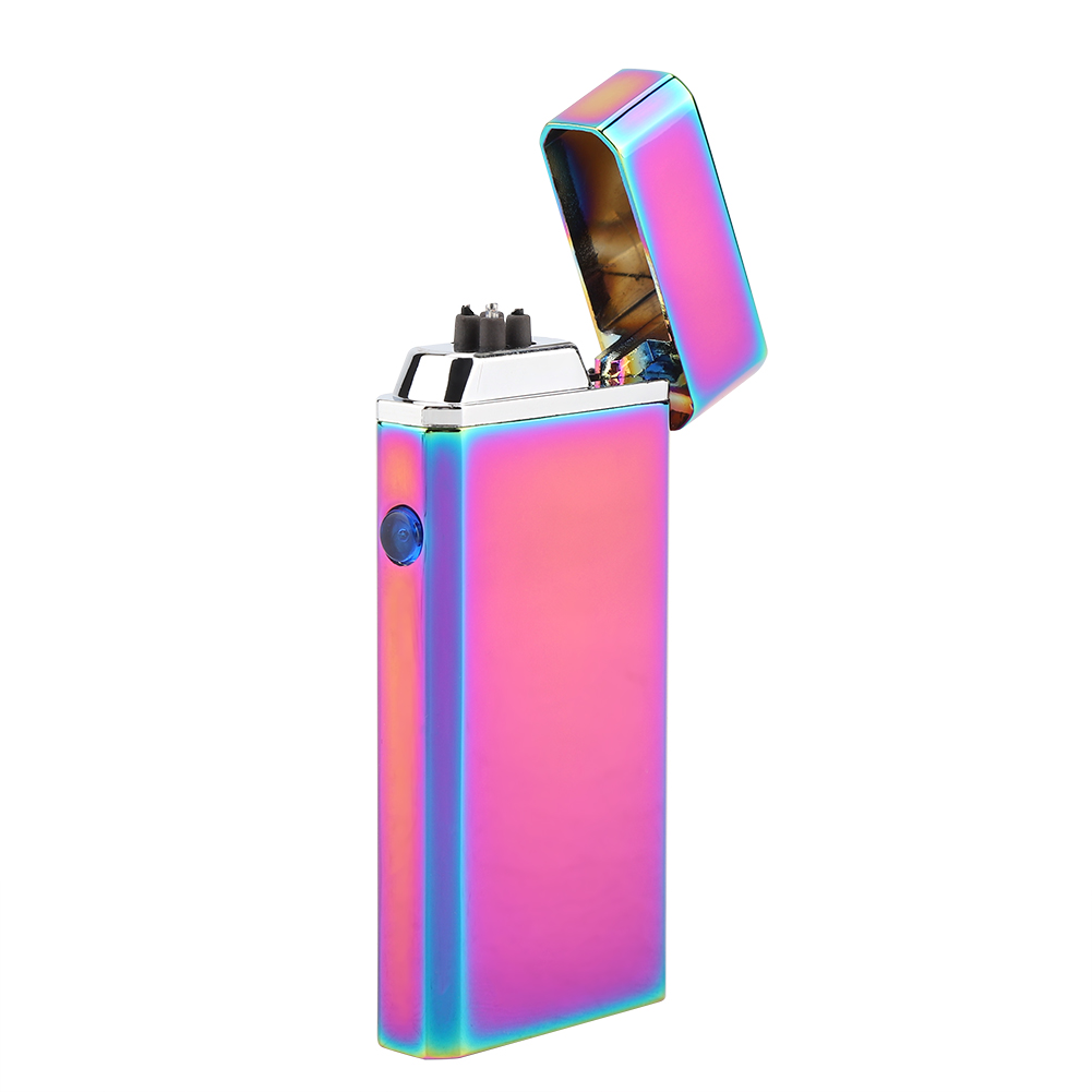 Electric-Dual-Arc-Plasma-USB-Rechargeable-Flameless-Electronic-Lighter-Cigarette miniature 23