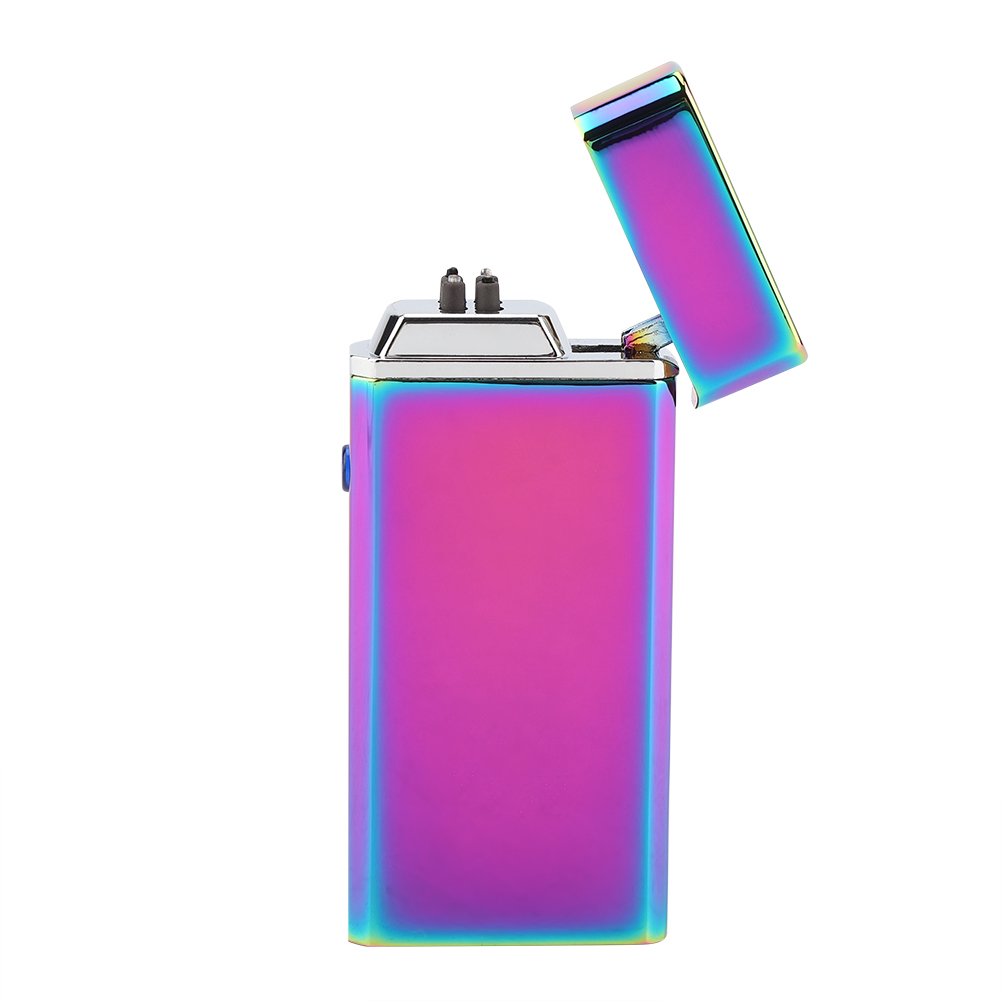Electric-Dual-Arc-Plasma-USB-Rechargeable-Flameless-Electronic-Lighter-Cigarette miniature 24