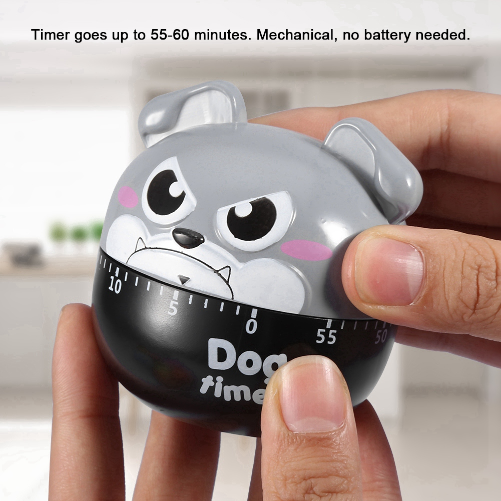 Cute Cartoon Kitchen Timer Mechanical Timers Counters For