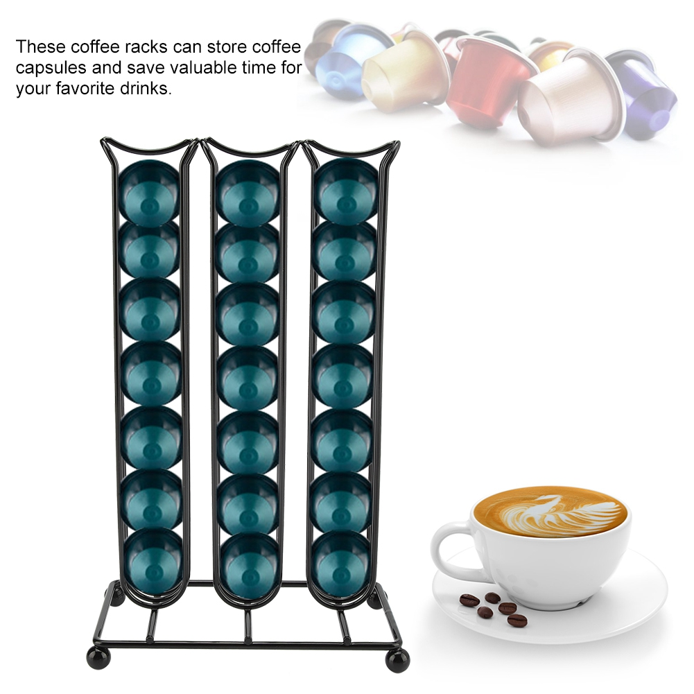 Coffee-Capsules-Holder-Stand-Dispenser-Rack-Storage-For-NESPRESSO-Dolce-Gusto thumbnail 21