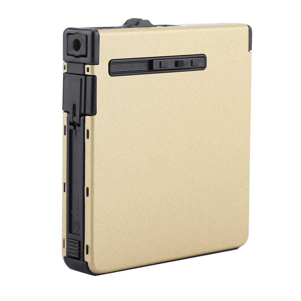 Inflatable-Automatic-Cigarette-Storage-Case-Portable-Windproof-Metal-Lighter thumbnail 17