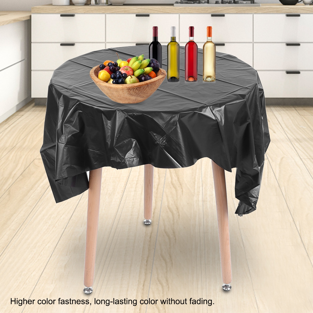Remarkable Details About 84 Disposable Waterproof Tablecloth Round Table Cloth For Wedding Banquet Party Download Free Architecture Designs Grimeyleaguecom