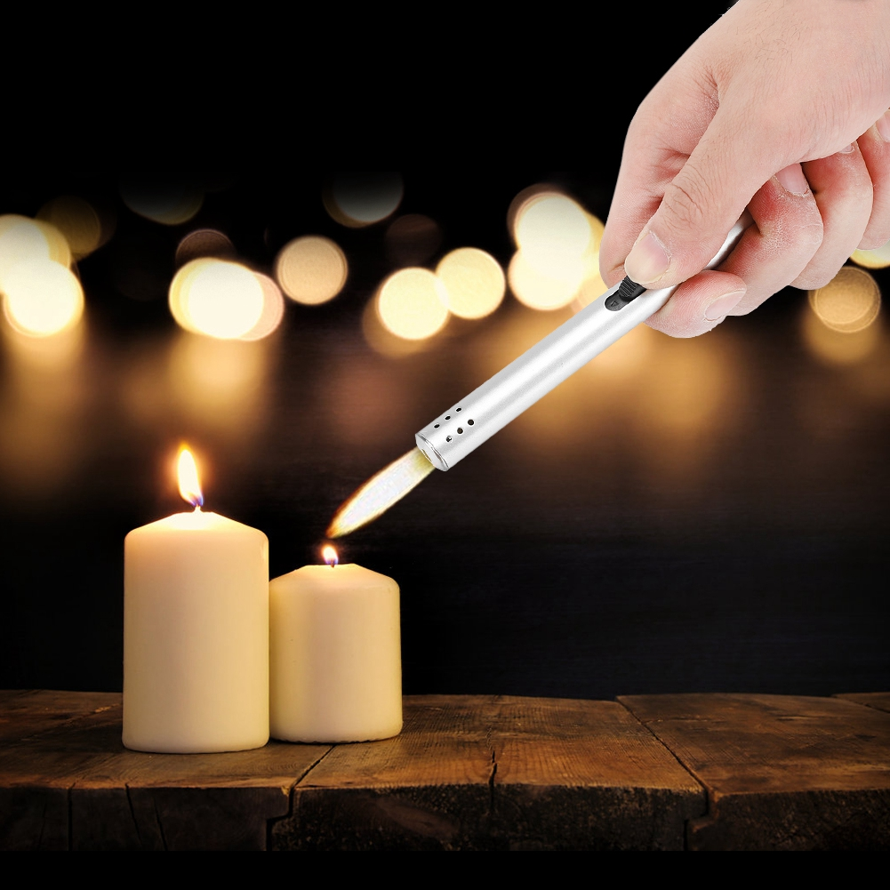 Electric-BBQ-Stove-Lighter-Gas-Spark-Starter-Oven-Candle-Ignitor-Long-Flame-Fire thumbnail 20