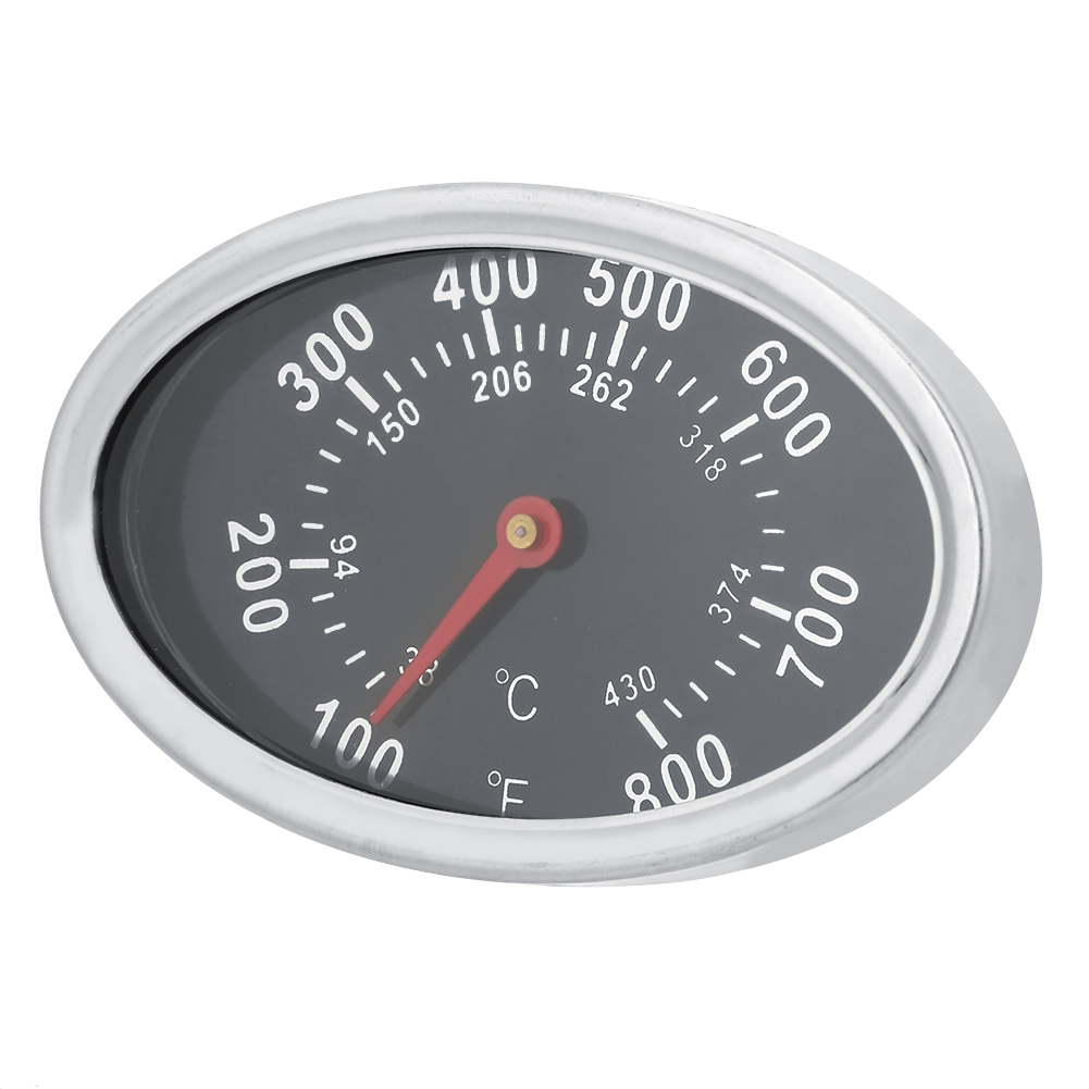 Stainless-Steel-BBQ-Smoker-Grill-Thermometer-Outdoor-Cooking-Temperature-Gauge thumbnail 21