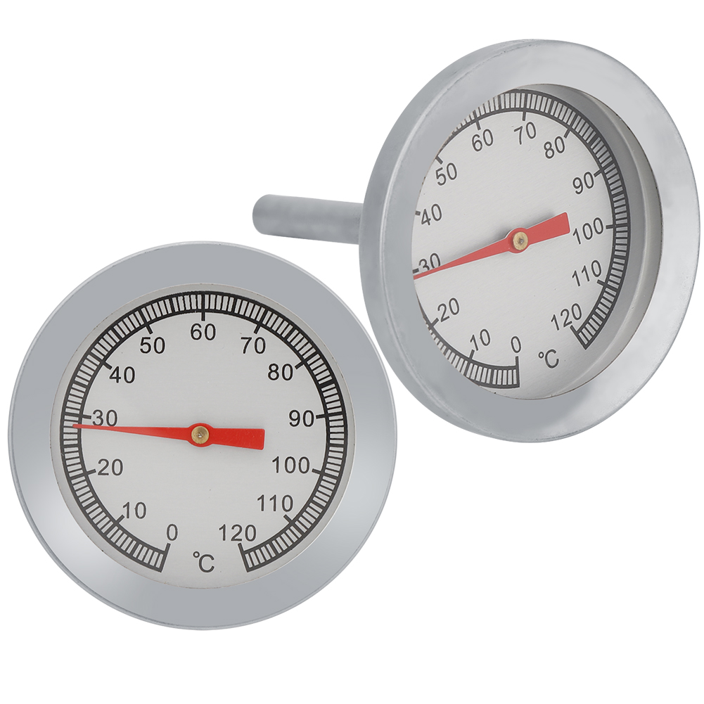 Stainless-Steel-BBQ-Smoker-Grill-Thermometer-Outdoor-Cooking-Temperature-Gauge thumbnail 23