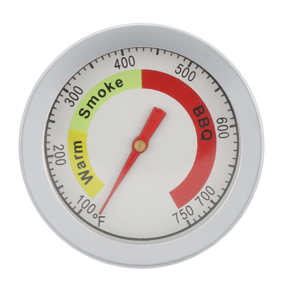 Stainless-Steel-BBQ-Smoker-Grill-Thermometer-Outdoor-Cooking-Temperature-Gauge thumbnail 15