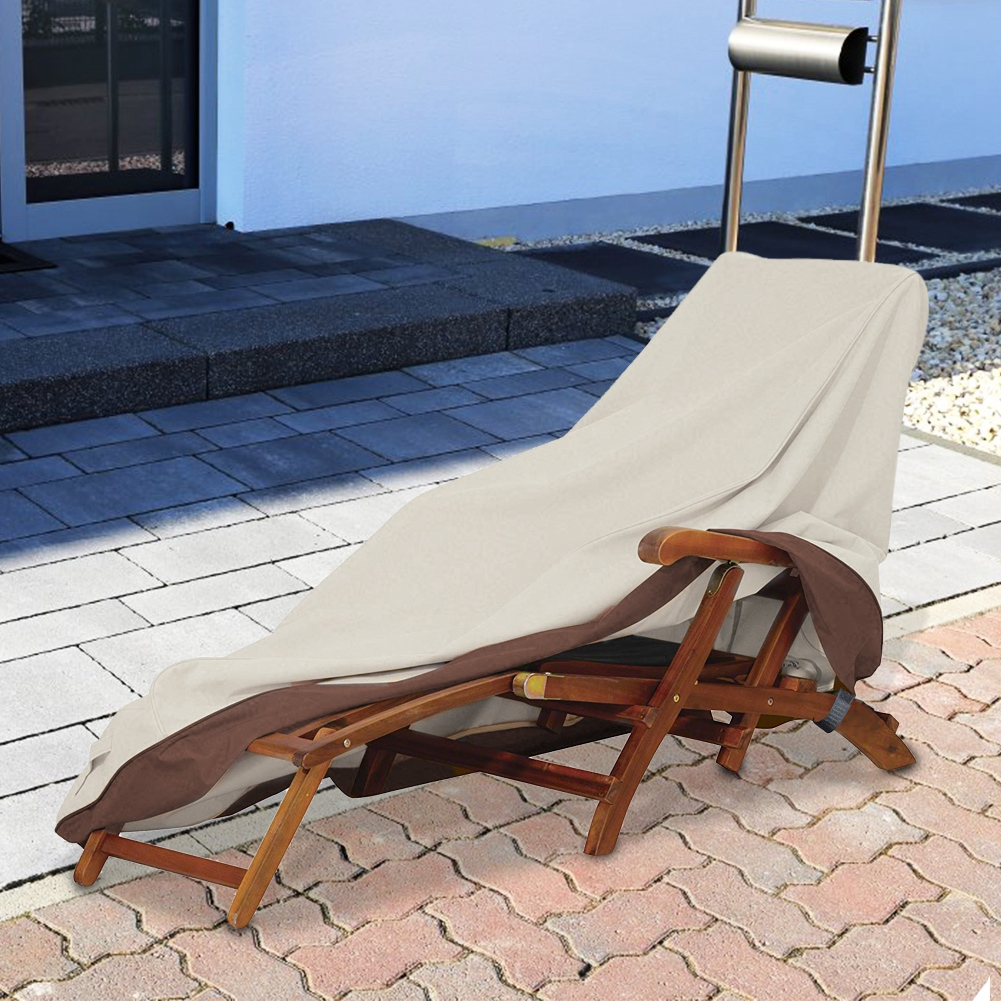 Oxford Outdoor Chaise Lounge Chair Cover Waterproof Patio ...