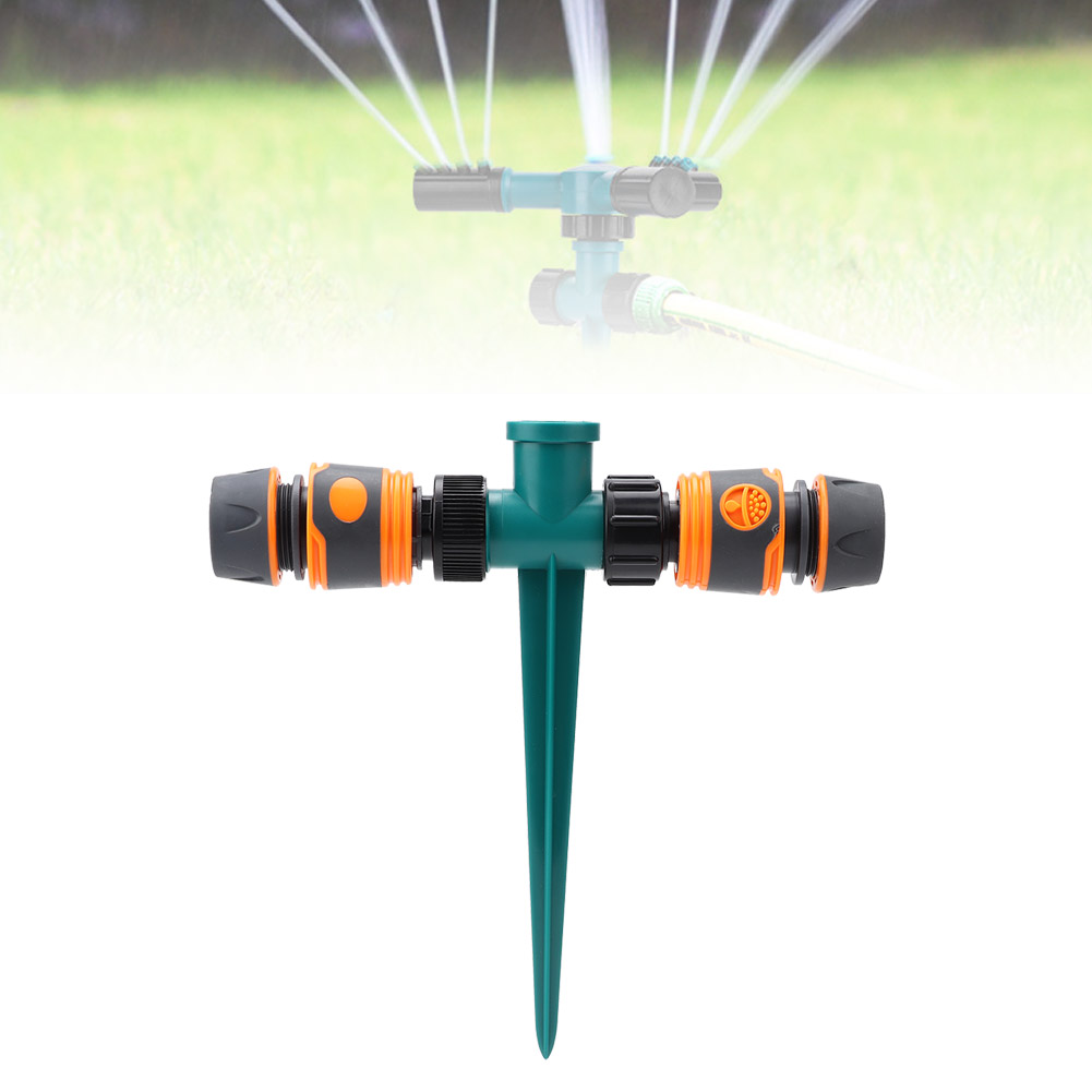 G1-2-034-Garden-Watering-Quick-Connection-Inserting-Type-Sprinkler-With-Double-Head thumbnail 4