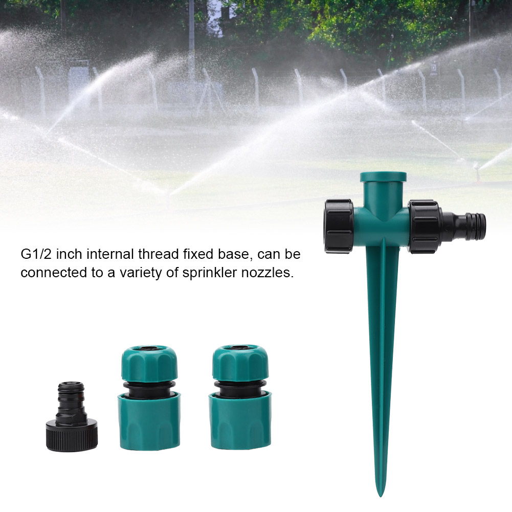 G1-2-034-Garden-Watering-Quick-Connection-Inserting-Type-Sprinkler-With-Double-Head thumbnail 2