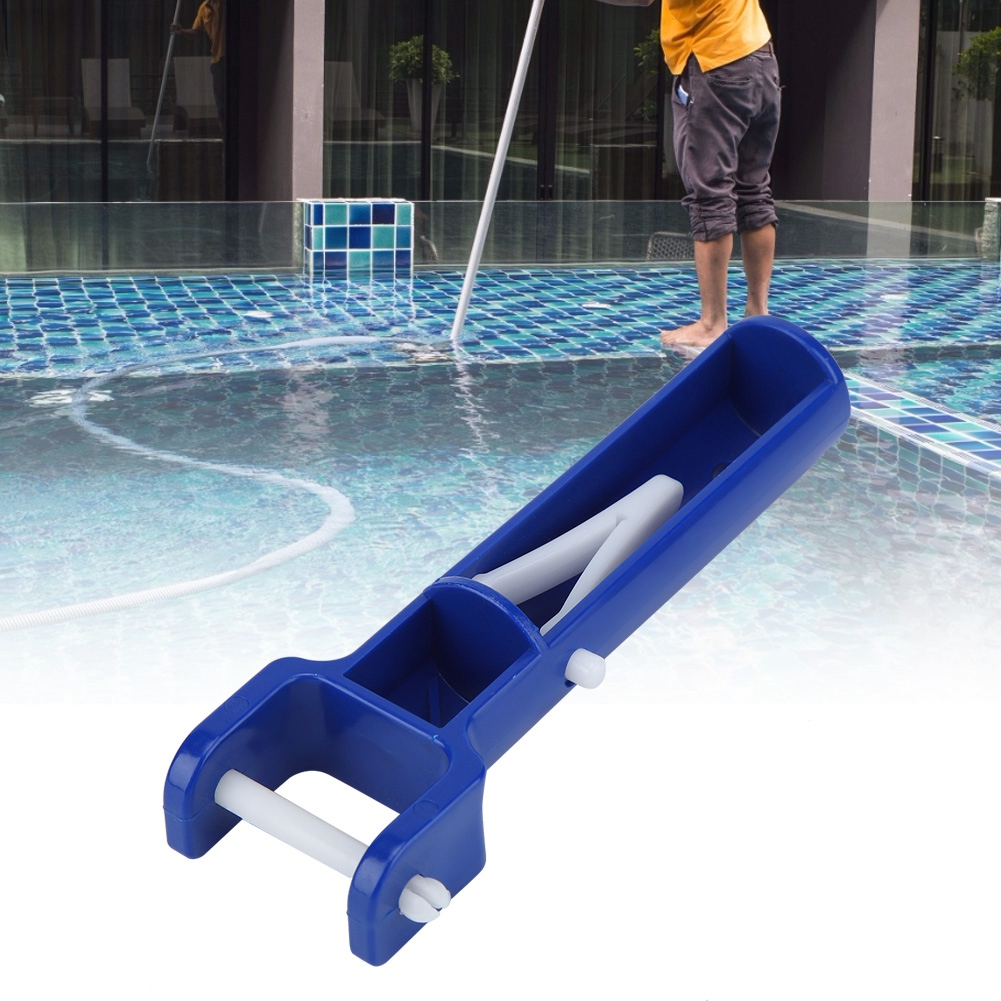 Details about Swimming Pool V Shape Clip Brush Vacuum Head Handle  Replacement Pool Accessories