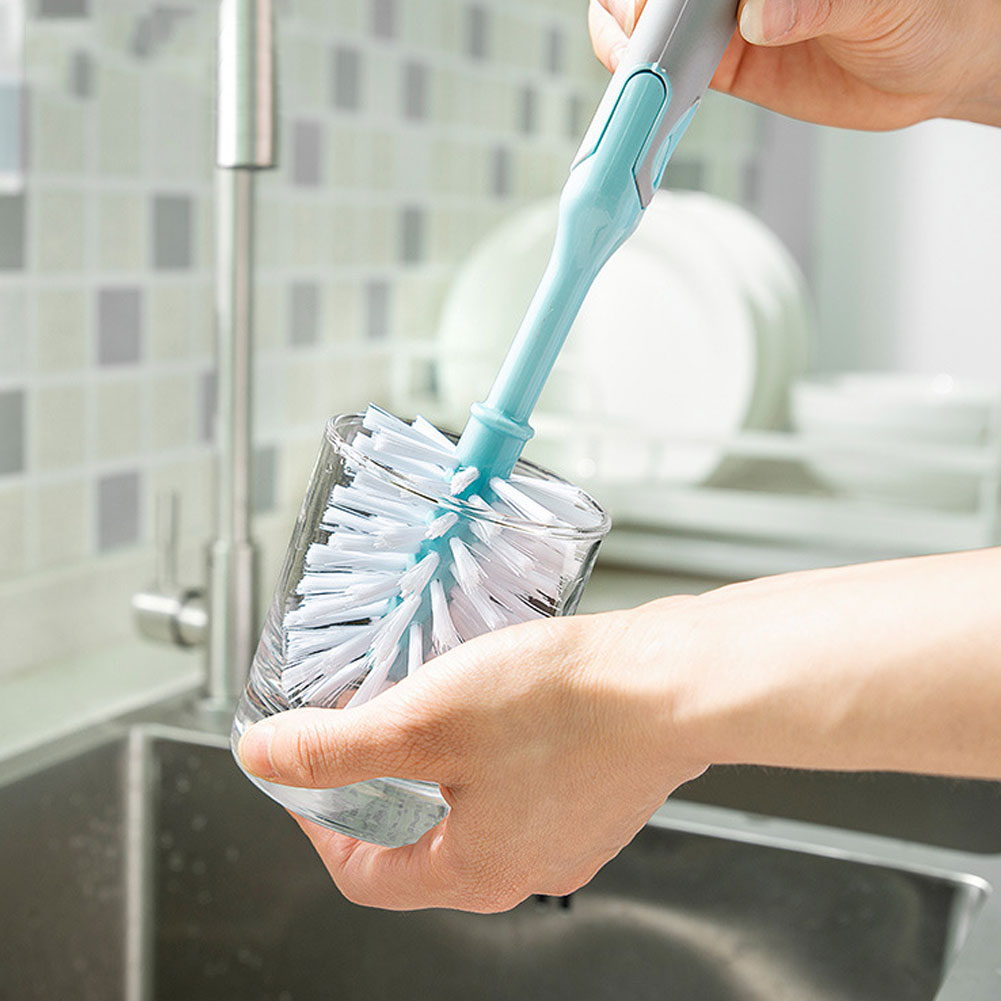 3-In-1-Kitchen-Cleaning-Brush-Dishes-Cup-Sponge-Crevice-Cleaner-Tool-Household thumbnail 4