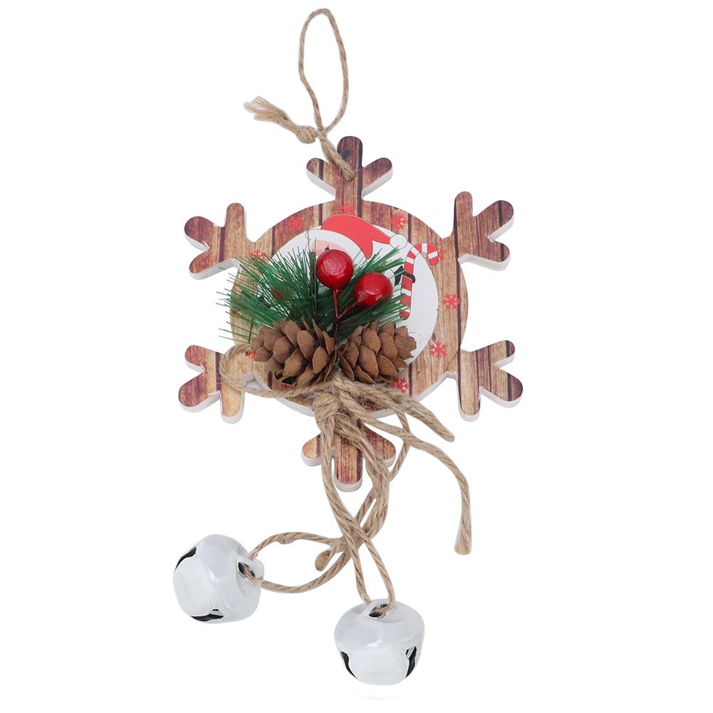 Christmas-Decorations-Tree-Ornament-Xmas-Hanging-Accessories-Wooden-DIY-Pendant thumbnail 94