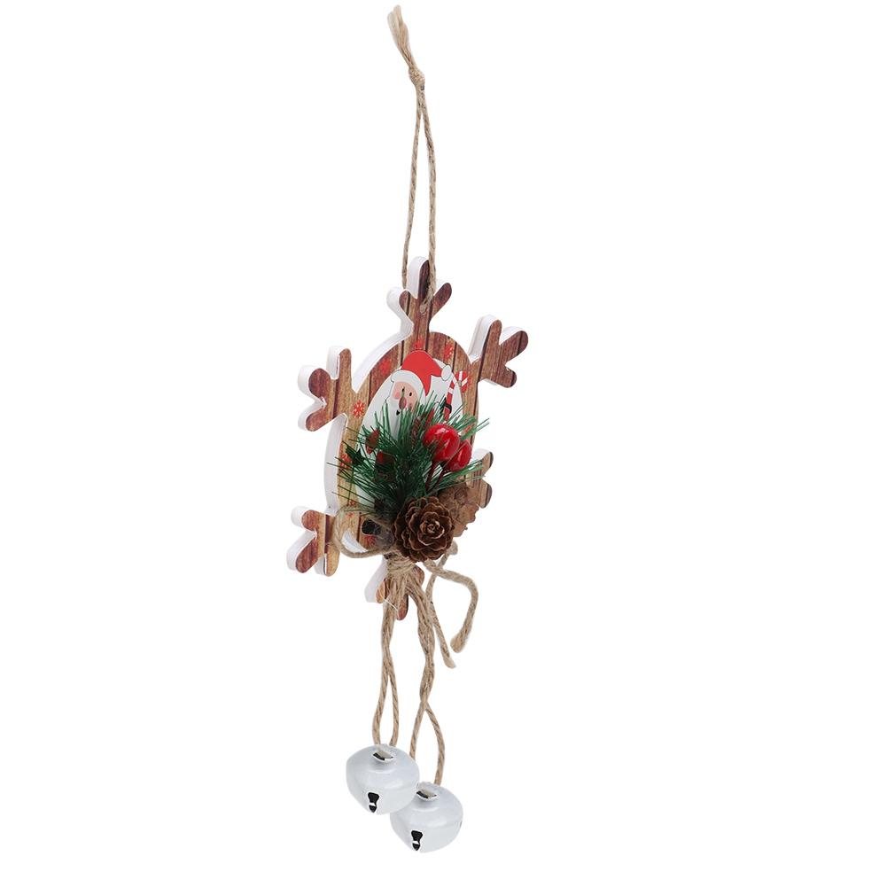 Christmas-Decorations-Tree-Ornament-Xmas-Hanging-Accessories-Wooden-DIY-Pendant thumbnail 95