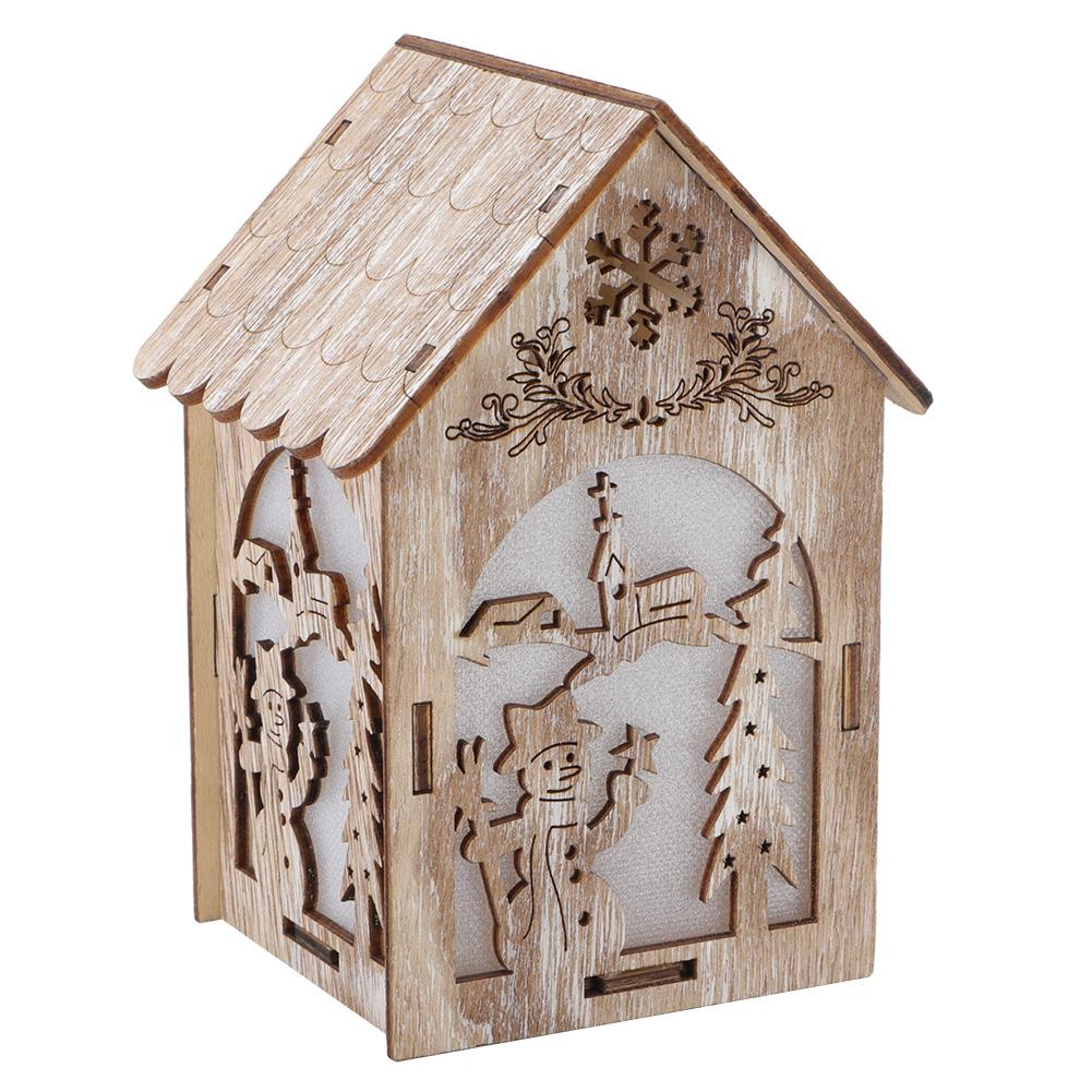 Christmas-Decorations-Tree-Ornament-Xmas-Hanging-Accessories-Wooden-DIY-Pendant thumbnail 64