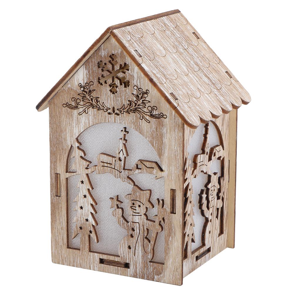 Christmas-Decorations-Tree-Ornament-Xmas-Hanging-Accessories-Wooden-DIY-Pendant thumbnail 65