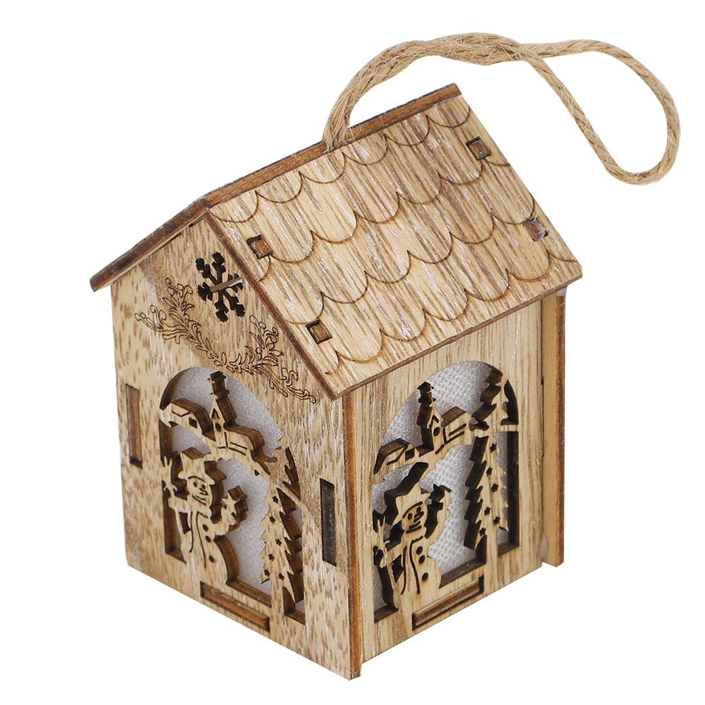 Christmas-Decorations-Tree-Ornament-Xmas-Hanging-Accessories-Wooden-DIY-Pendant thumbnail 55