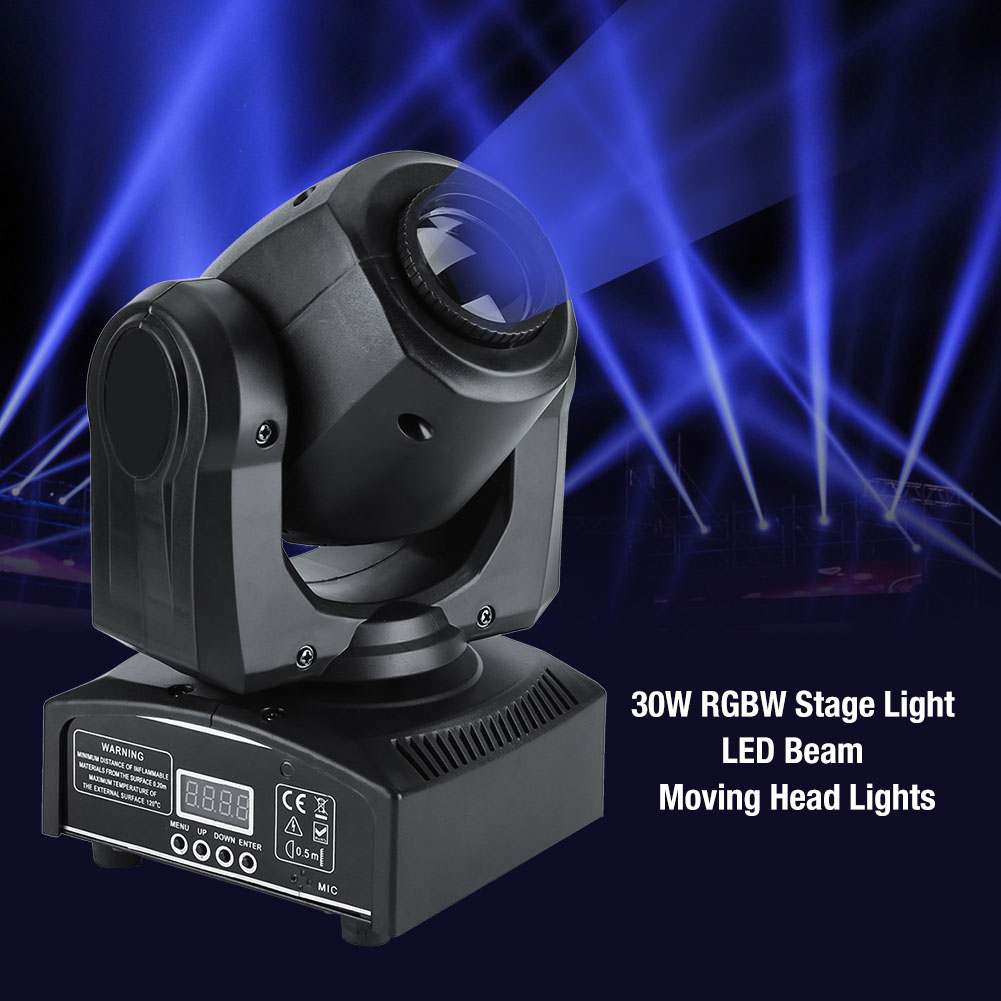 4-Pack-60W-RGBW-Stage-Light-LED-Moving-Head-Lights-Disco-DJ-Party-Stage-Lighting