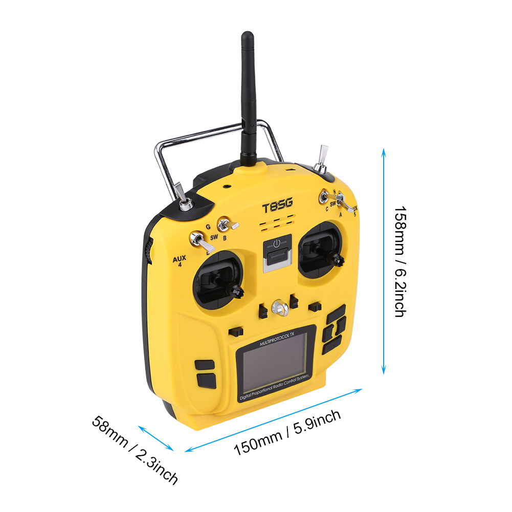 Details about New Jumper T8SG V2 12CH Multi-Protocol Transmitter Built in  4-in1 RF Module