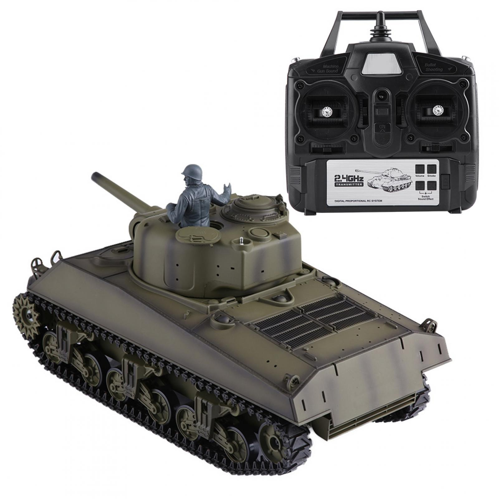 Henglong 3898-1 1 16 RC Tank Heavy Metal Metal Metal Battle