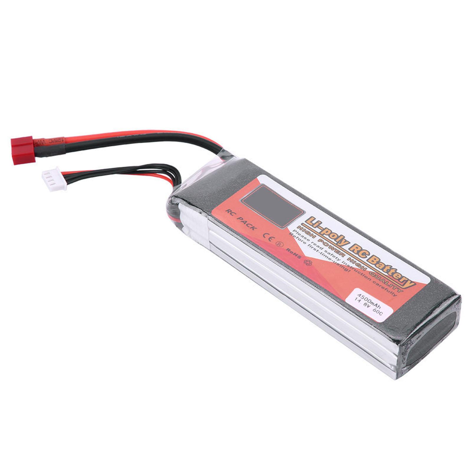 ZOP POWER 4S 14.8V 3500mAh 4500mAh 5500mAh 60C 60C 60C Rechargeable LiPo Battery T Plug d7134a