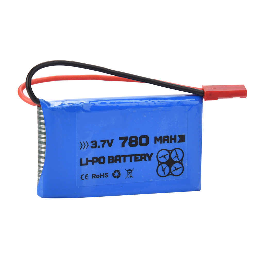 Engpow 3 7v 350mah 25c Lipo Battery With X5 Charger For: ENGPOW 3.7V 780mAh 25C JST Plug Rechargeable LiPo Battery