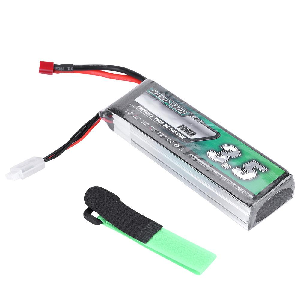 Airtonk POWER 3500mAh 11.1V 60C Rechargeable Lipo Battery T T T Plug for RC Car Kits e0633d