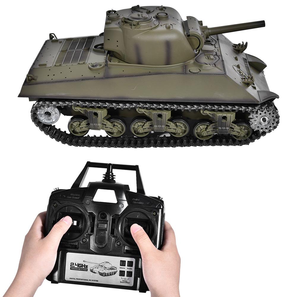HengLong 3898-1 1 16 Metal RC Tank SHERMAN M4A3 Battle Walker Sound Upgrade 6.0