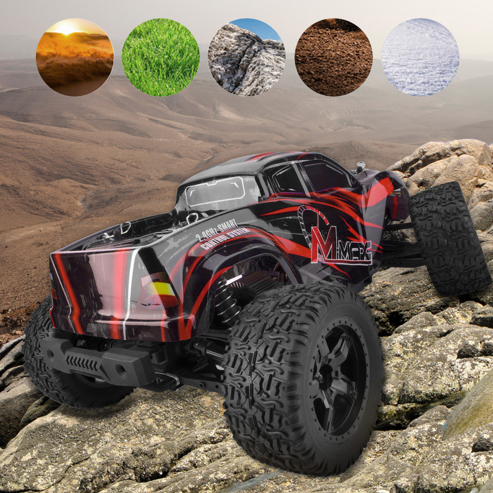 REMO-1035-1-10-Electric-4WD-2-4GHz-RC-Off-road-Car-Brushless-Monster-Truck-RTR miniature 15